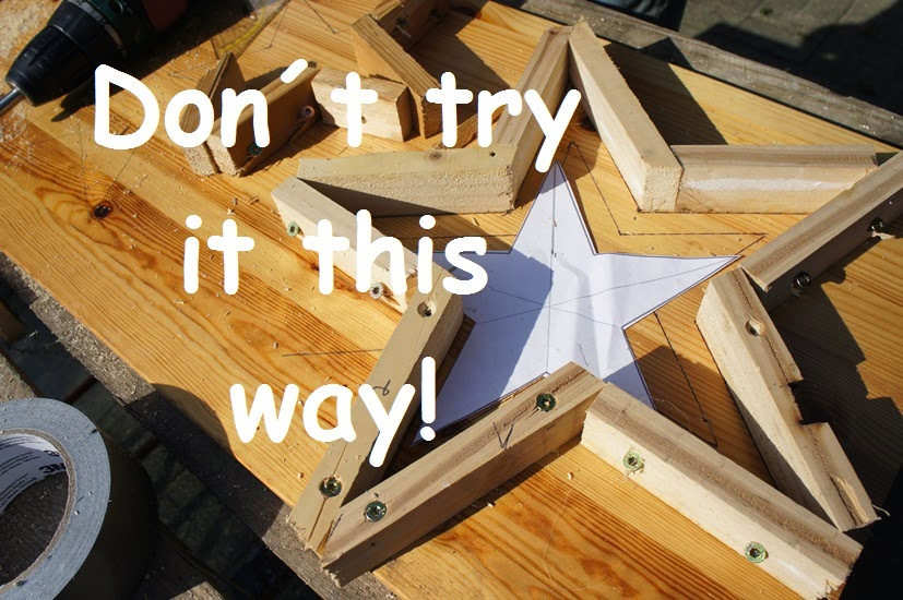 DIY: a star is born! Beton-Sterne ;-) - Smillas Wohngefühl