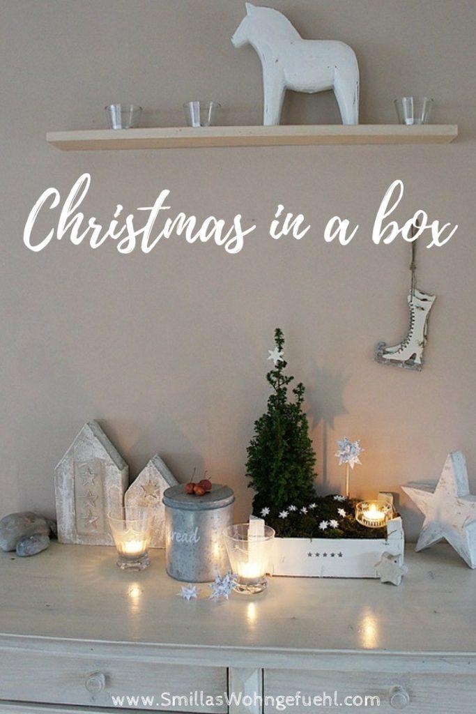 DIY Weihnachten in der Kiste, weihnachtskiste basteln
