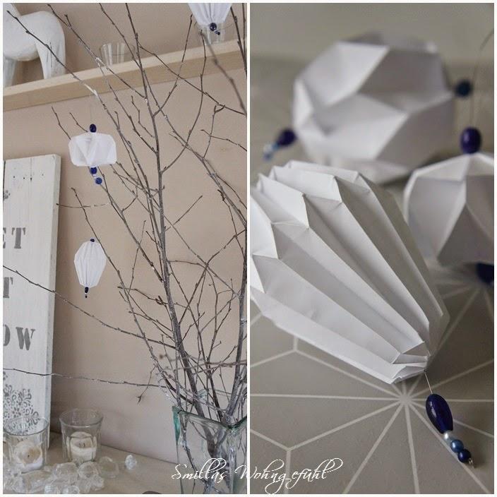 Diy Origamiplissee Anhänger Smillas Wohngefühl