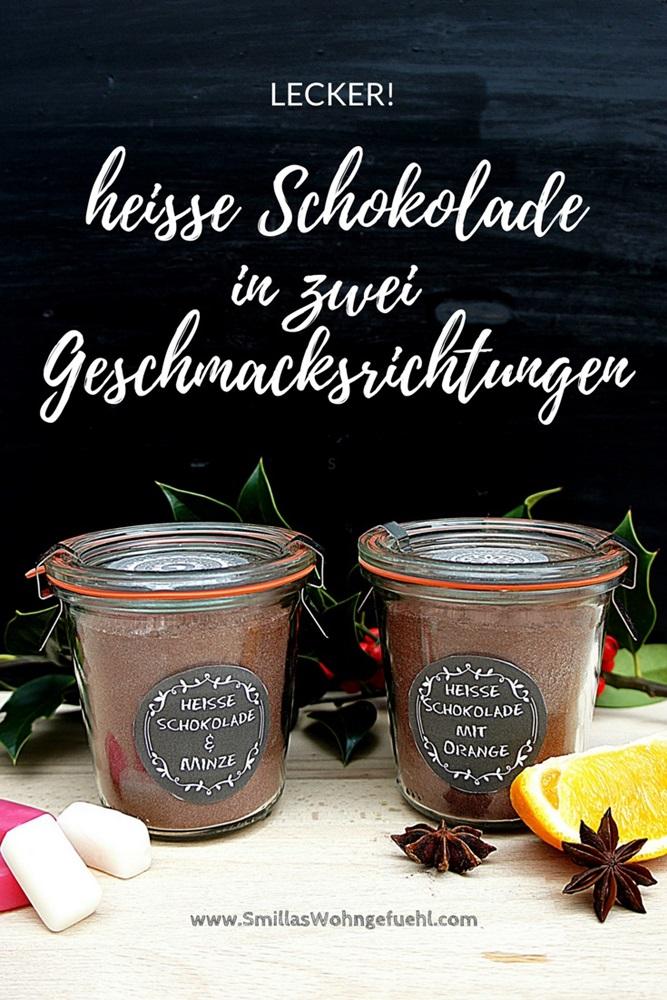 heisse schokolade mit minze und orange selbermachen rezept