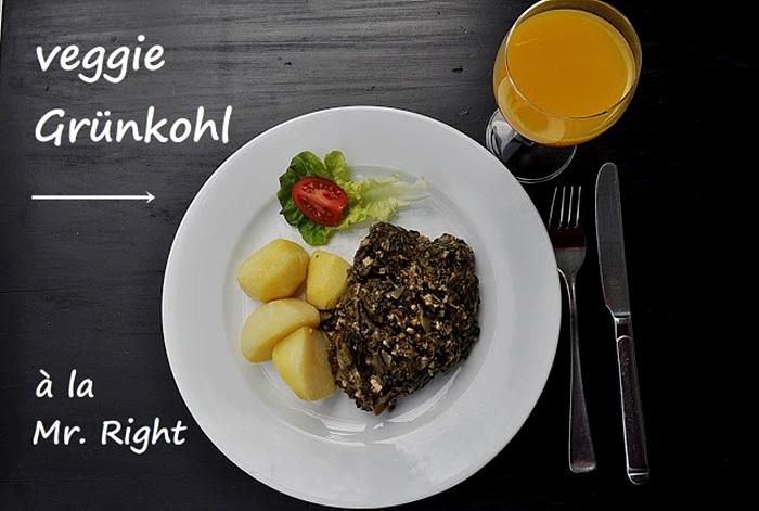 Gruenkohl vegetarisch vegan Rezept