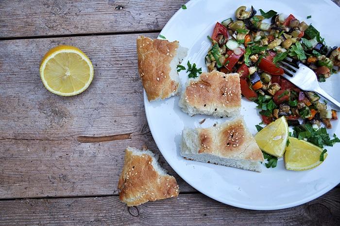 vegetarisch-vegan-auberginen-salat-rezept