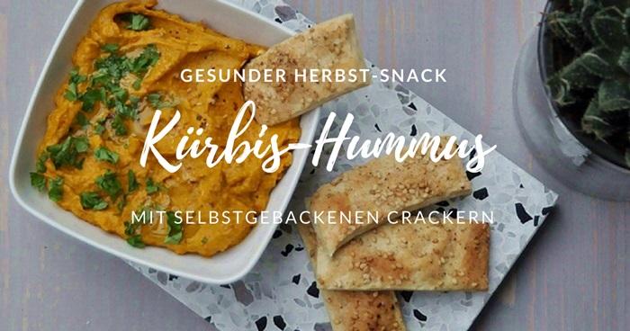 Kuerbis-Hummus-mit-selbst-gebackenen-Crackern