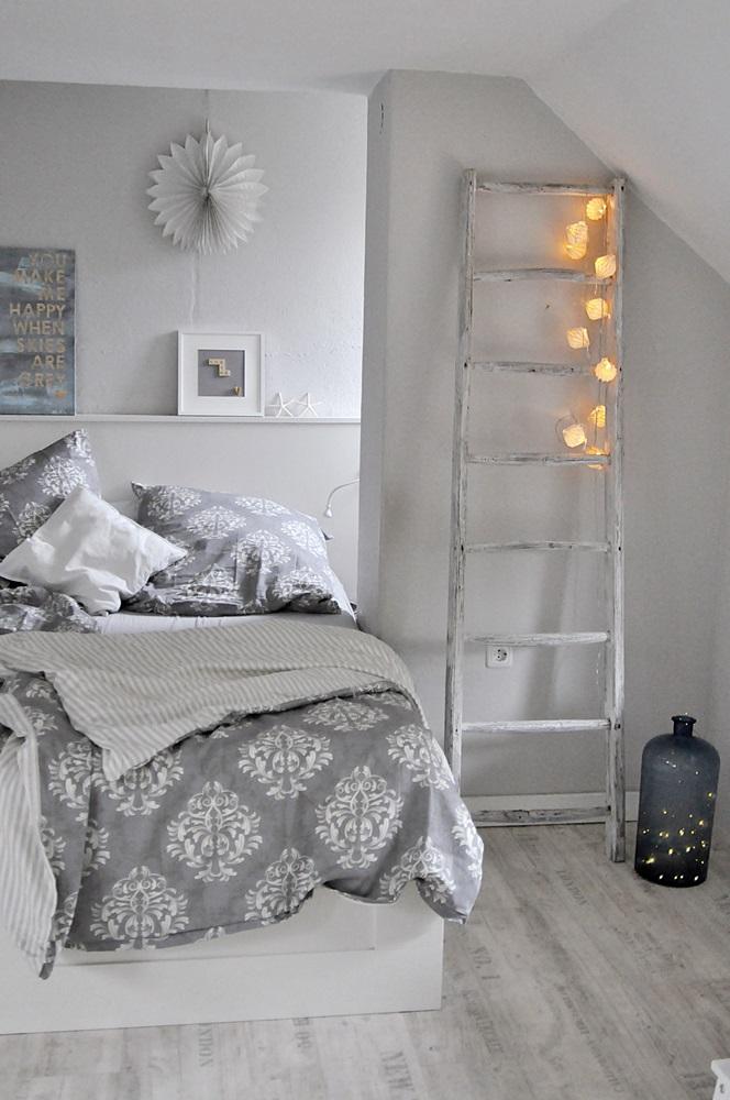 Schlafzimmer einrichten beleuchtung lichterkette