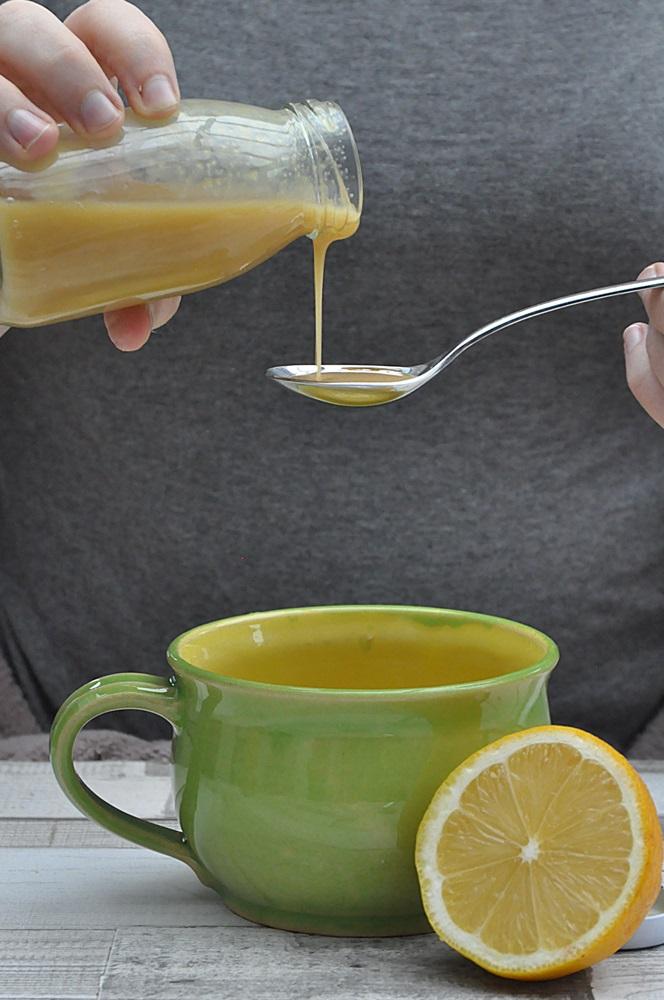 Ingwer Zitronen Sirup erkältungen vorbeugen