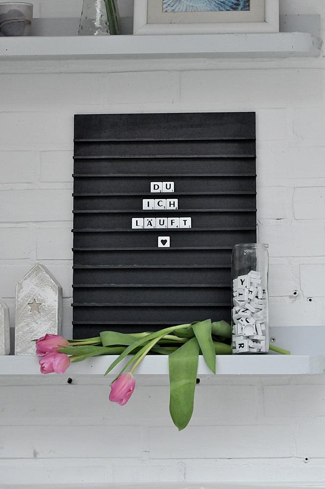 DIY Letterboard Valentinstag