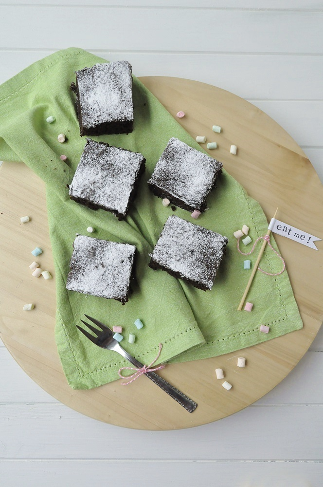 Schoko-Brownies vegan Rezept