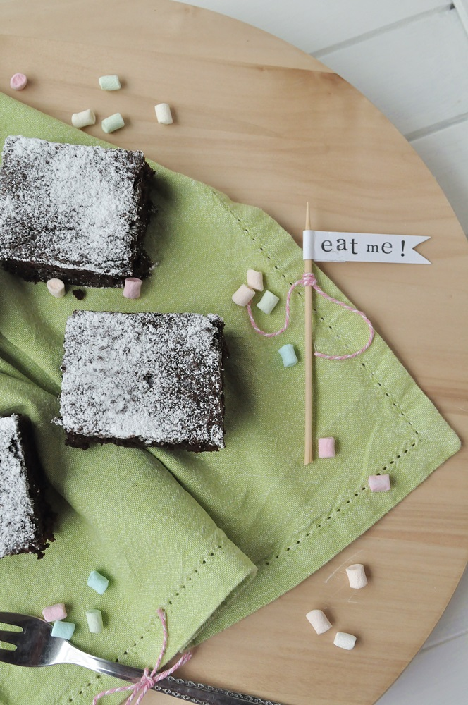 Schoko-Brownies vegan Rezept